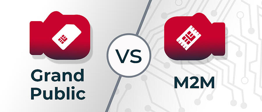 Carte SIM M2M vs Grand public